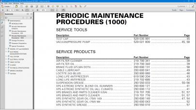 ATV 2017 Outlander 6x6 Series 650 and 1000 Service Manual