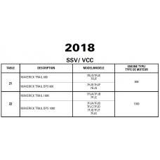SSV 2018 Maverick Trail Series Service Manual