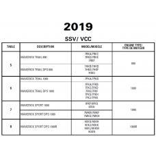 SSV 2019 Maverick Trail - Maverick Sport Series Service Manual