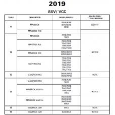 SSV 2019 Maverick Series Service Manual